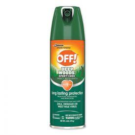 OFF!® Deep Woods Sportsmen Insect Repellent, 6oz aerosol