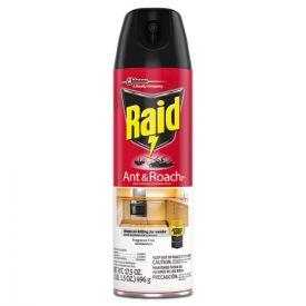 Raid® Fragrance Free Ant & Roach Killer, 17.5oz aerosol