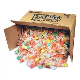 Saf-T-Pops Saf-T-Pops, Assorted Flavors, Individually Wrapped, Bulk 25lbs.