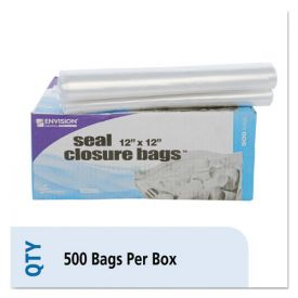 Stout® by Envision™ Seal Closure Bags, 2 mil, 12
