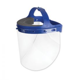 Suncast Commercial® Fully Assembled Full Length Face Shield with Head Gear, 16.5 x 10.25 x 11