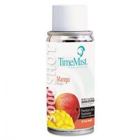 TimeMist® 3000 Shot Micro Metered Air Freshener Refill, Mango, 3oz Aerosol