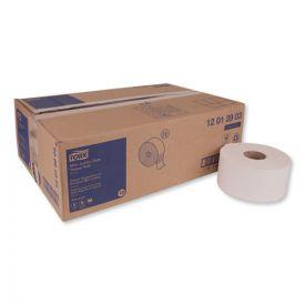 Tork® Advanced Jumbo Bath Tissue, Septic Safe, 1-Ply, White, 3.48