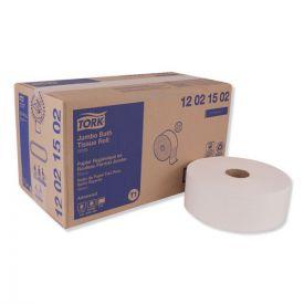 Tork® Advanced Jumbo Bath Tissue, Septic Safe, 2-Ply, White, 1600ft