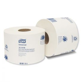 Tork® Universal Bath Tissue Roll with OptiCore, Septic Safe, 2-Ply, White