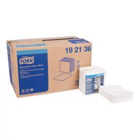 Tork® Heavy-Duty Paper Wiper 1/4 Fold, 12.5 x 13, White