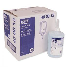 Tork® Premium Hair and Body Soap, Apricot, 1L