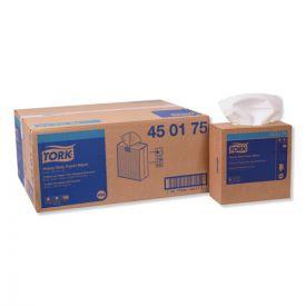 Tork® Heavy-Duty Paper Wiper, 9.25 x 16.25, White, 90-100CT