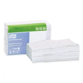Tork® Industrial Cleaning Cloths, 1-Ply, 12.6 x 15.16, Gray
