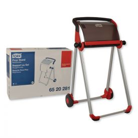 Tork® Performance Floor Stand, 25.43 x 39.61 x 20.87, Red/Smoke