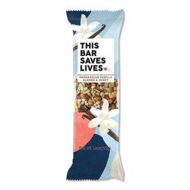 THIS BAR SAVES LIVES™ Snackbars, Madagascar Vanilla and Almond and Honey, 1.4 oz.