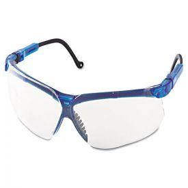 Honeywell Uvex™ Genesis Shooting Glasses, Vapor Blue Frame, Clear Lens