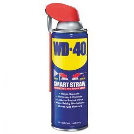 WD-40® Smart Straw Spray Lubricant, 12oz. Aerosol Can