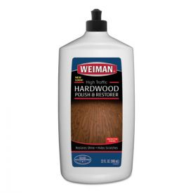 WEIMAN® High Traffic Hardwood Polish and Restorer, 32oz. Squeeze Bottle