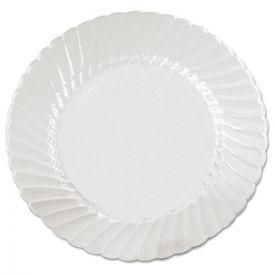 WNA Classicware Plates, Plastic, 9in, Clear