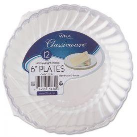 WNA Classicware Plastic Plates, 6