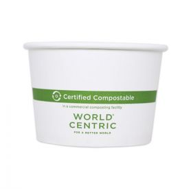 World Centric® Paper Bowls, 4.4