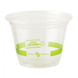 World Centric® Clear Cold Cups, 9oz. Clear
