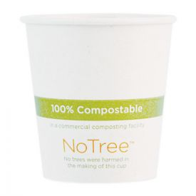 World Centric® NoTree Paper Hot Cups, 6oz. Natural