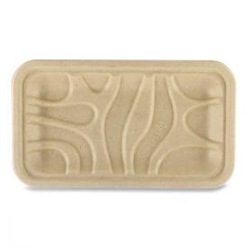 World Centric® Fiber Trays, 8.3 x 4.9 x 0.7, Natural