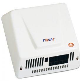 WORLD DRYER® NOVA Hand Dryer, 110-240V, Aluminum, White