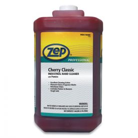 Zep Professional® Cherry Industrial Hand Cleaner with Abrasive, Cherry, 4-1gal Bottle