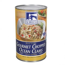 Sea Watch Gourmet Chopped Ocean Clams 51oz.
