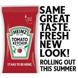 Heinz Tomato Ketchup 7 gram packet