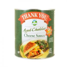 Thank You Aged Cheese Sauce #10 Cans