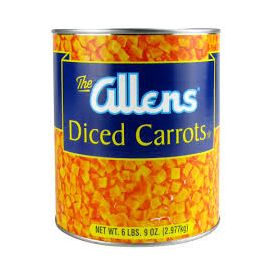 Allens Diced Carrots #10