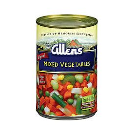 Allens Mixed Vegetables #10