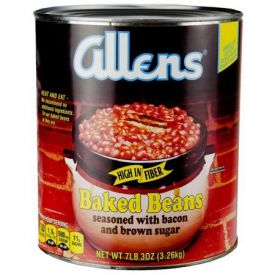 Allen Baked Beans Seasoned With Bacon and Brown Sugar - 115oz