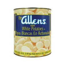 Allens Sliced Irish Potatoes #10