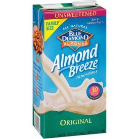 Almond Breeze Unsweetened Original Milk Substitute 64oz.