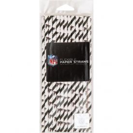 NFL Atlanta Falcons Paper Straws