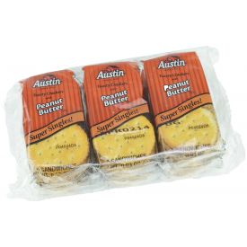 Austin Toasty Crackers with Peanut Butter .93oz