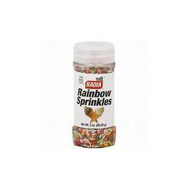 Candy Rainbow Sprinkles 3oz.