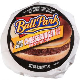 Ball Park Cheeseburger-4.3oz.