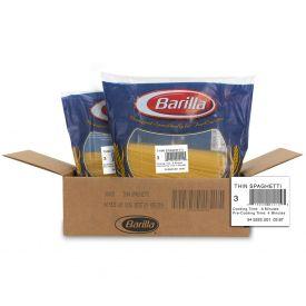 Barilla Thin SpaghettiPasta - 160oz