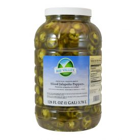 Bay Valley Fresh Pack Sliced Jalapeno Peppers 128oz.