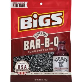 BIGS Smokey Sweet Bar-B-Q Sunflower Seeds Case 5.35oz.