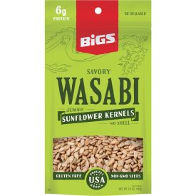 BIGS Wasabi Sunflower Seed Kernel Case 3.5oz.