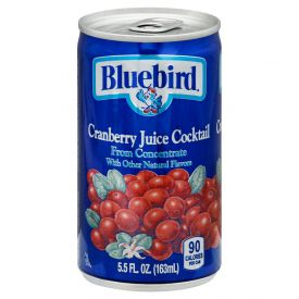Bluebird Cranberry Cocktail 5.5oz.