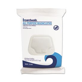 Boardwalk® Premoistened Personal Washcloths, 12.5 x 7.9, Fresh Scent