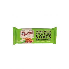 Bob's Red Mill Peanut Butter Apple Spice and Oats Bar  1.76oz.