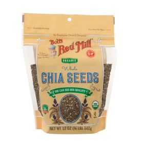 Bob's Red Mill Organic Chia Seeds 12oz.