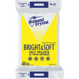 Diamond Crystal Bright & Soft Pellets 40lb.