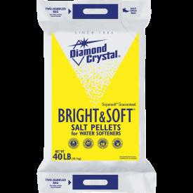 Diamond Crystal Bright & Soft Pellets 40lb.