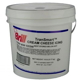 Brill TranSmart Cream Cheese Icing 18lb