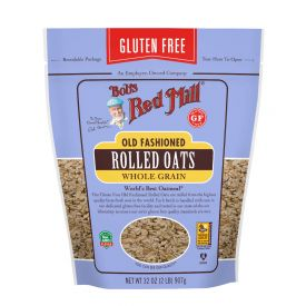 Bob's Red Mill Gluten Free Old Fashioned Rolled Oats 32oz.